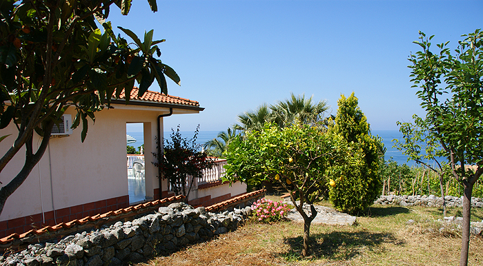 From The Garden You Have Got A Fantastic View Of Villa Lina And The Sea.